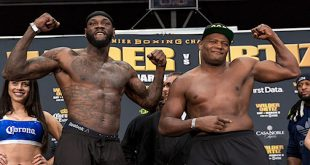 Wilder vs Ortiz Weigh-in