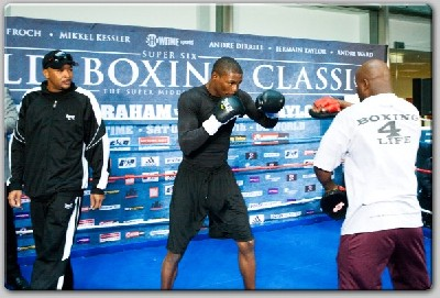 AbrahamTaylor11 Showtime Boxing: Abraham, Taylor Workout In Berlin