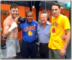 Andy Lee Angelo Dundee1 Boxing In Ireland: Lee, Thiam Ready For Limerick Weigh In