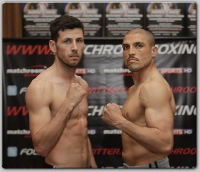 BARKER SPADA WEIGHIN11 Matchroom Boxing: Barker Ready For Spada Test