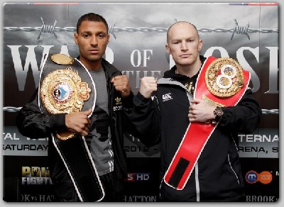 BROOK HATTON61 Brook vs. Hatton Welter War Nearing Sell Out Status