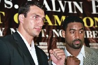 Boxing Press Conference: Klitschko   Brock