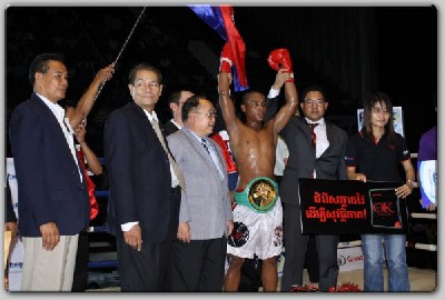 Cambodain Boxer1 Songchai Boxing: Savud Wins WBC International Belt