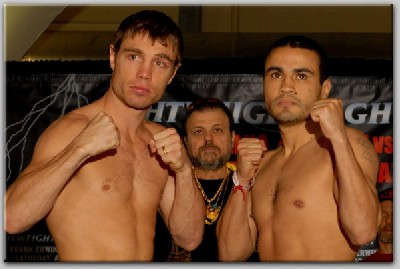 ChavezKatsidisWeighIn1 Boxing Weights and Photos For Lightweight Lightning