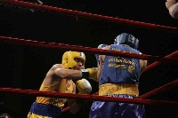 Del Valle v Baeza action Ringside Boxing Report: NY Daily News Golden Gloves   Part II