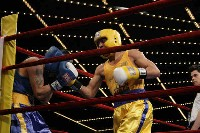 Del Valle v Baeza action2 Ringside Boxing Report: NY Daily News Golden Gloves   Part II