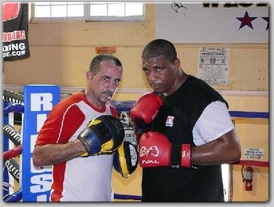 Diaz Solis1 Arena Boxing: Odlanier Solis Reunited With Amateur Coach Diaz