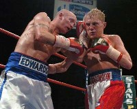 Edwards Robinson4 Boxing Result: Chris Edwards   Dale Robinson 2
