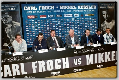 Froch Lands In Denmark1 Showtime Boxing: Froch Lands In Denmark For Kessler Fight