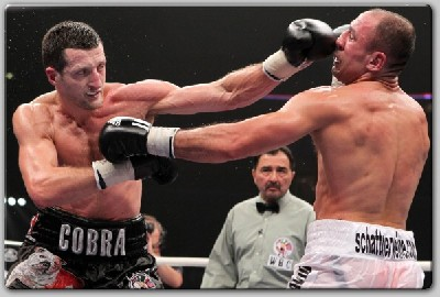 Froch vs Abraham1 Boxing Result: Carl Froch Handles Arthur Abraham With Ease
