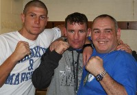 GomezBobbyandboxer1 Ringside Boxing Report: Michael Gomez   Daniel Thorpe