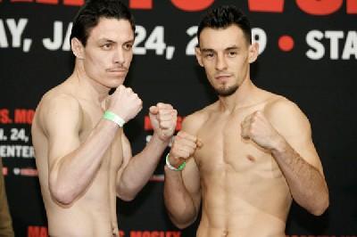 GuerreroRuizWeighIn1 Golden Boy Boxing: Top Prospects Stack Margarito vs. Mosley Undercard