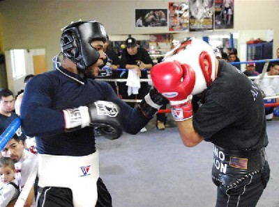 Guzman1 Boxing Update: Former World Champion Guzman Looks Sharp In Sparring