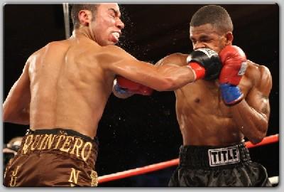 HarrisQuintero1 ShoBox Results: Harris Shocks Quintero, Avalos Stops Wilson