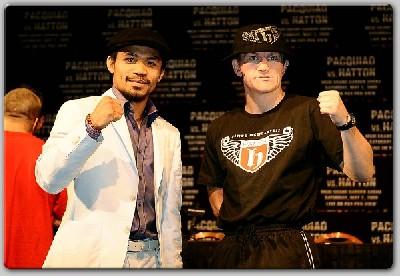 HattonPacquiaoFinalLVPC11 Boxing Quotes: Ricky Hatton vs. Manny Pacquiao
