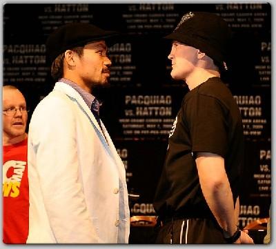 HattonPacquiaoFinalLVPC21 Boxing Quotes: Ricky Hatton vs. Manny Pacquiao