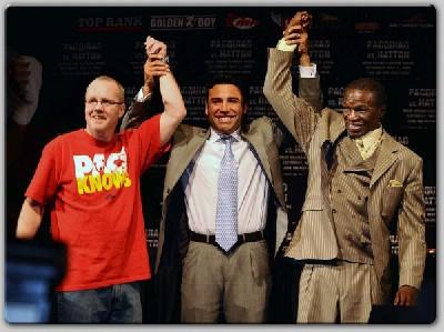 HattonPacquiaoFinalLVPC51 Boxing Quotes: Ricky Hatton vs. Manny Pacquiao