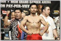HattonPacquiaoWeighIn21 Boxing Weights: Ricky Hatton vs. Manny Paquiao