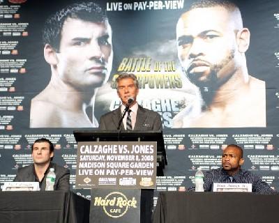Joe Calzaghe Vs Roy Jones Jr1 Boxing Press Conference: Joe Calzaghe vs. Roy Jones Jr