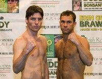 John Duddy Anthony Bonsante Boxing Weigh in: John Duddy   Anthony Bonsante