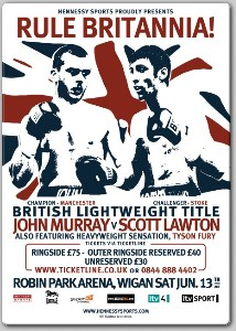 JohnMurray v ScottLawton1  Hennessy Boxing: Murray, Lawton Set For Date With The Scales