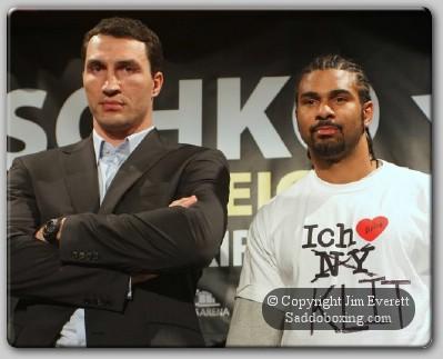 Klitschko Haye1 NY Press Conference: Klitschko v Haye