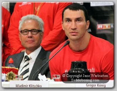 KlitschkoChagaev PC1 Klitschko Chagaev Post Fight Conference: Haye Has a Big Dirty Mouth