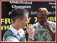 Lee Haskins Zolile Mbityi1 Boxing Press Conference: Lee Haskins   Zolile Mbityi