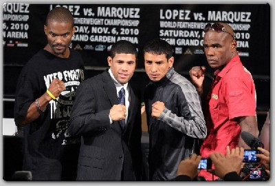 Lopez Marquez Green Johnson1 Showtime Boxing Quotes: Lopez, Marquez, Green, Johnson