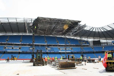 "City of Manchester Stadium Prepares for ""Homecoming"""