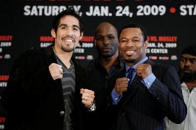 MargaritoMosleyFinalPC1 Boxing Quotes: Countdown To Antonio Margarito vs. Shane Mosley