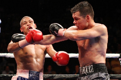 MarquezvsLorenzo1 Boxing Result: Abraham Knocks Miranda Out In Rematch During American Debut
