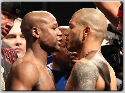 MayweatherCottoWeighIn21 Boxing Preview Analysis: Mayweather vs.Cotto, Mosley vs. Alvarez