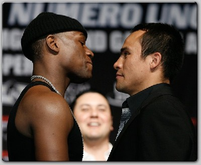 MayweatherMarquez1 Pound For Pound Boxing King Mayweather Will Face Marquez July 18