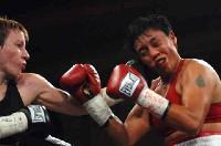McCarter Martinez1 Ringside Boxing Report: Layla McCarter   Angelica Martinez