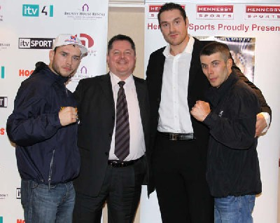 Boxing Press Conference: John Murray Vs Lee McAllister