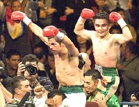 Nino Villoria31 Ringside Boxing Report: Erik Morales   Manny Pacquiao