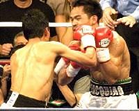 Pacquaio Morales fight2 Manny Pacquiao Vs Erik Morales 3 III