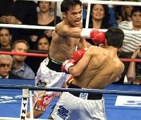 Pacquaio Morales fight3 Manny Pacquiao Vs Erik Morales 3 III