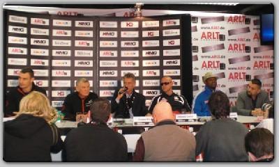 PressConference1 Team Gomez Rubbishes Team Klitschko At Stuttgart Press Conference