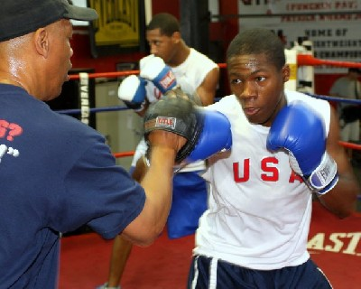 RaynellWilliams1 U.S. Olympic Boxing Spotlight: Featherweight – Raynell Williams