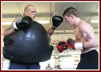 Ricky Hattons 15 Round Boxing Body Belt Session!