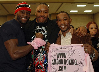 SteveTimJamaal02921 Philadelphia Boxing Stars Join For Cancer Awareness Auction