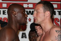 TarvervsWoods1 Boxing Weigh In: Woods vs. Tarver   Dawson vs. Johnson