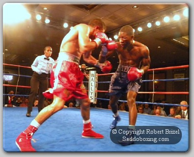TeonKennedy1 Ringside Boxing Report: Teon Kennedy vs. Jose Angel Beranza