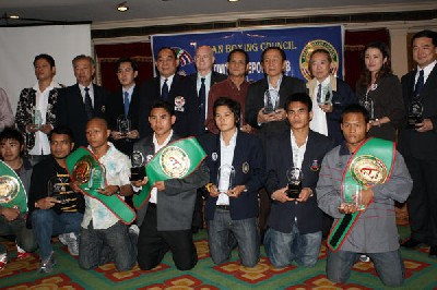 Thai Promoters1 Boxing In Asia: Thai Promoters Recieve ABCO Awards