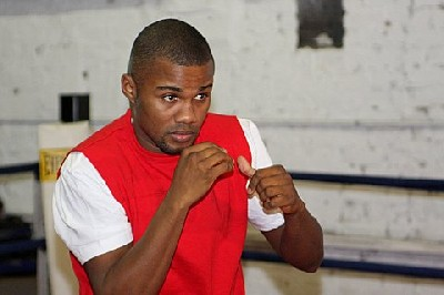 Trinidadtraining1 Boxing Media Work Out: Trinidad, Karmazin, Bunema and Alexander