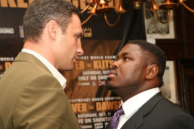 Vitali Klitschko sam peter1 Vitali Klitschko Makes Boxing Comeback Against WBC Champ Sam Peter On Showtime