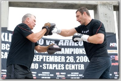 Vitaliworkout1 K2 Boxing: Vitali Wows Crowd At Los Angeles Open Workout