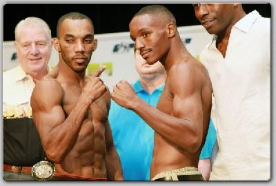 WitterAlexander1 Boxing Weights: Bradley vs. Campbell, Witter vs. Alexander